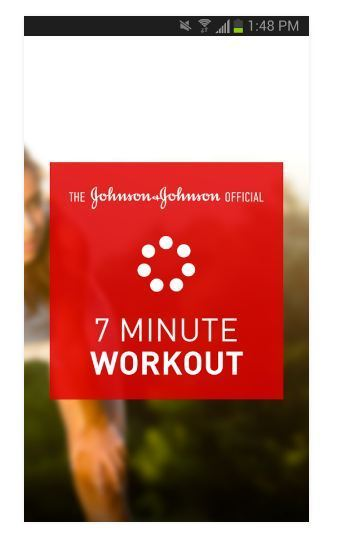 Apps for College Students - Johnson & Johnson Official 7 Minute Workout App