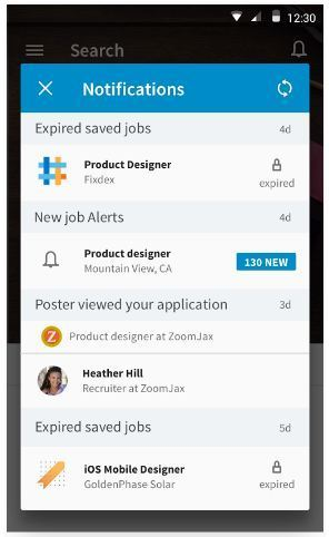 Apps for College Students - LinkedIn Job Search